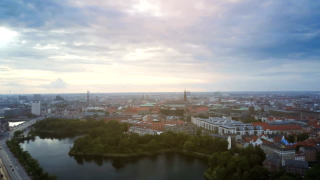 4K Cityscapes, Landscapes & Establishers Aerial 4K footage of Copenhagen cityscape, shot with drone denmark stock videos & royalty-free footage
