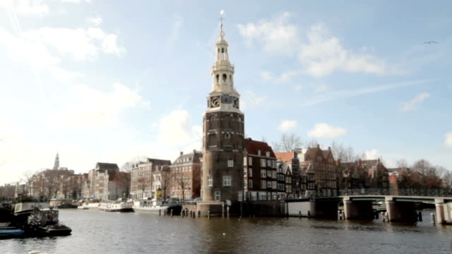 Cityscenic in Amsterdam the Netherlands video