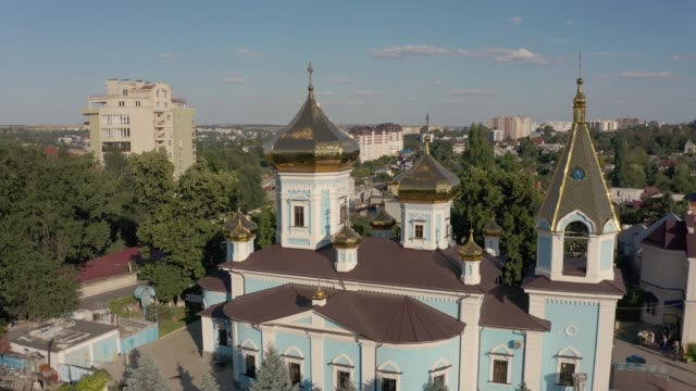 ciuflea monastery, chisinau, republic of moldova - молдавия стоковые видео и кадры b-roll