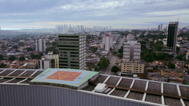 Civic Square, Palaces and Helipad in Goiânia, GO, Brazil video