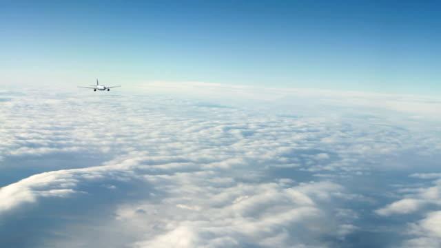 Civilian Passenger Jet Flying video