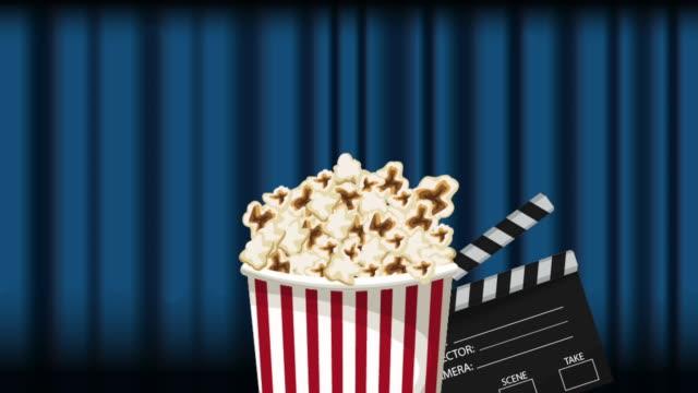 stockvideo's en b-roll-footage met duig verschijnt over theater gordijnen - photography curtains