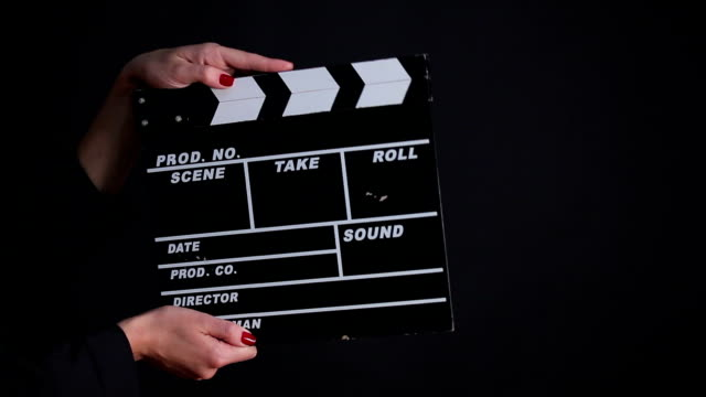 Clapper Board video