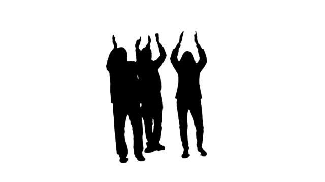 clapping people - utskuren bild bildbanksvideor och videomaterial från bakom kulisserna