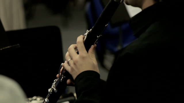 Clarinet Player Musical Performance video
