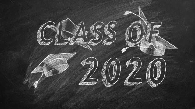 Class of 2020 Hand drawing