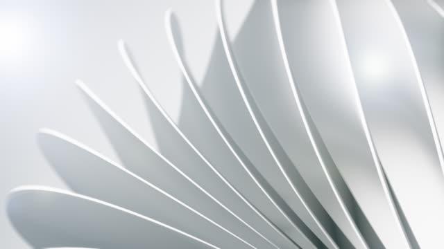 ren och mjuk bakgrundsanimering. abstrakta enkla cirklar rörelse. (loopable) - geometriformad bildbanksvideor och videomaterial från bakom kulisserna