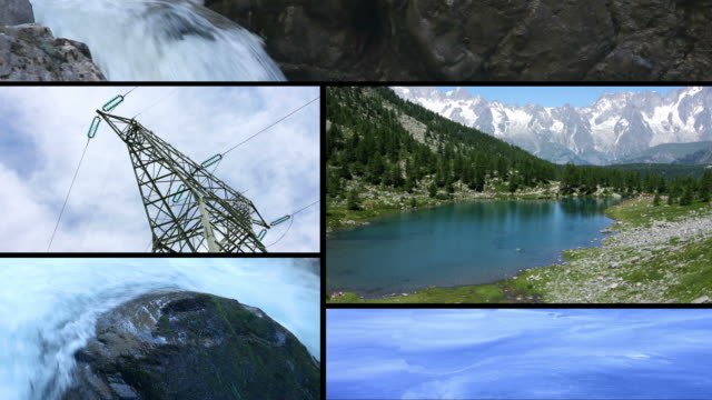 Clean energy power from water  propeller stock videos & royalty-free footage