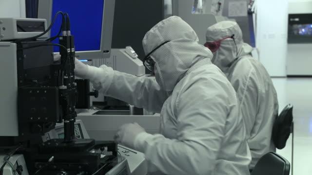 Clean Lab Techs Working video