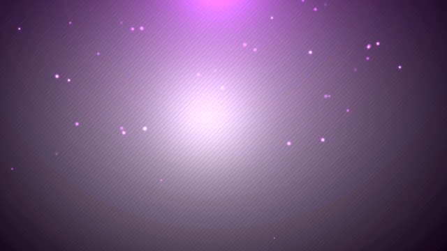 Clean Simple Purple vignette Background with Particles video