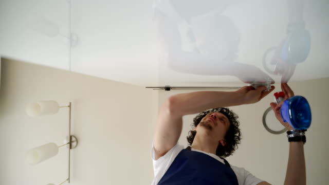 Cleaning home service-professional occupation video
