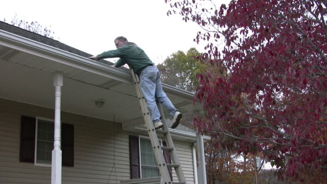 Cleaning out the gutters video