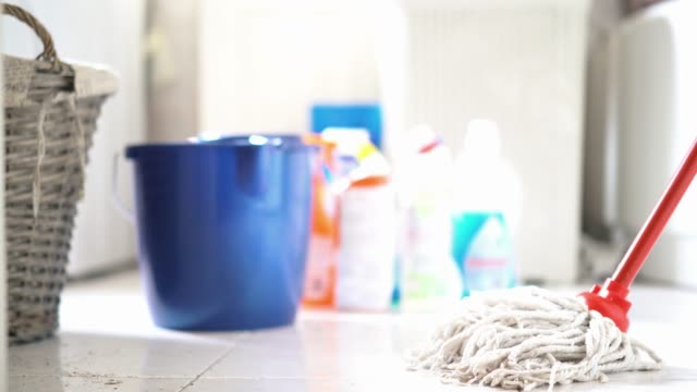 Cleaning products. video