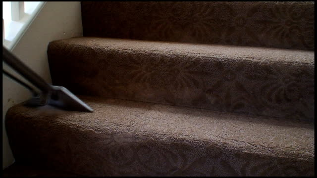Cleaning stairs video