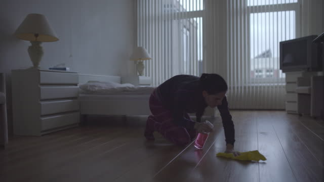 Cleaning the house video