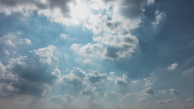 Clear Blue Sky with Cloudscape.