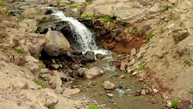 Clear mountain stream video