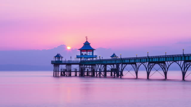 Clevedon Pier video