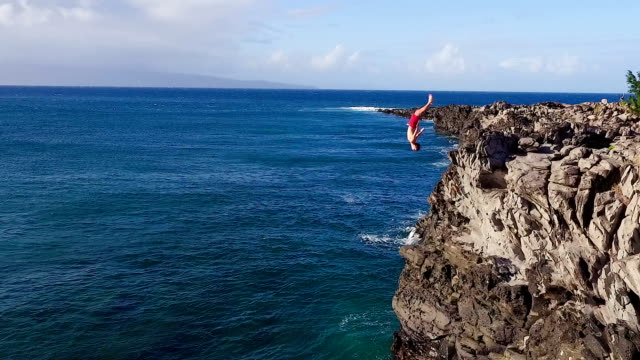 Best Cliff Jumping Stock Videos and Royalty-Free Footage