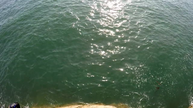 POV - Cliff Jumping video