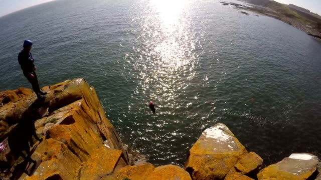 Cliff Jumping video