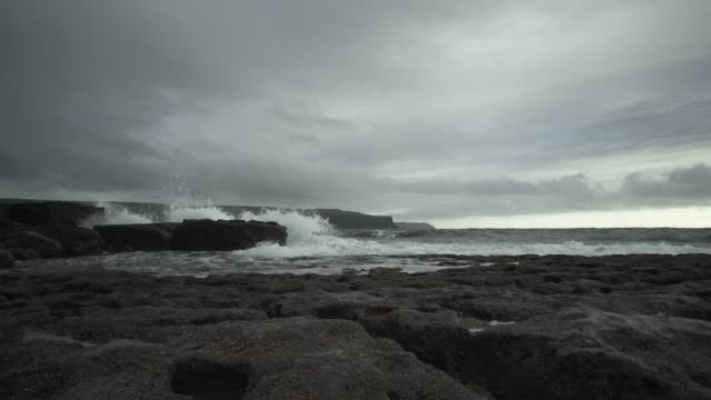Cliffs Of Moher As Seen From Doolin Harbour video