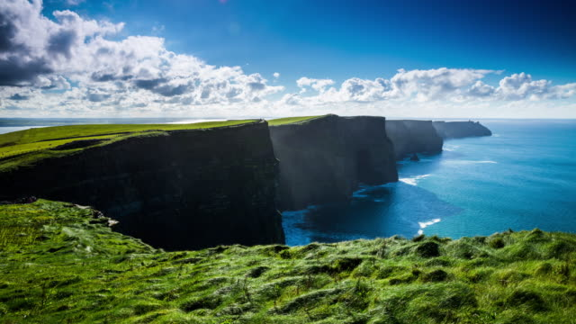Cliffs Of Moher In Irland - Time Lapse video