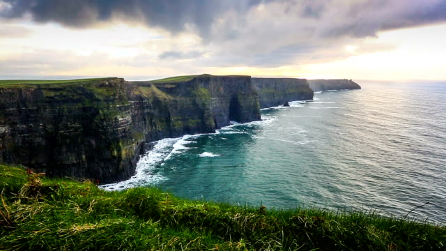 HD: Cliffs of Moher, Ireland video