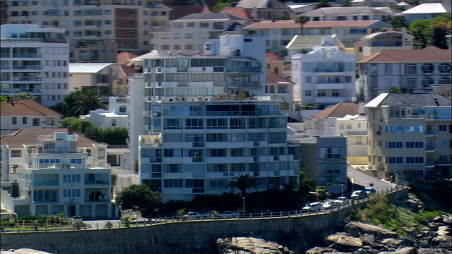 Clifton  - Aerial View - Western Cape,  City of Cape Town,  South Africa video
