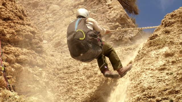 Climbing a hill video