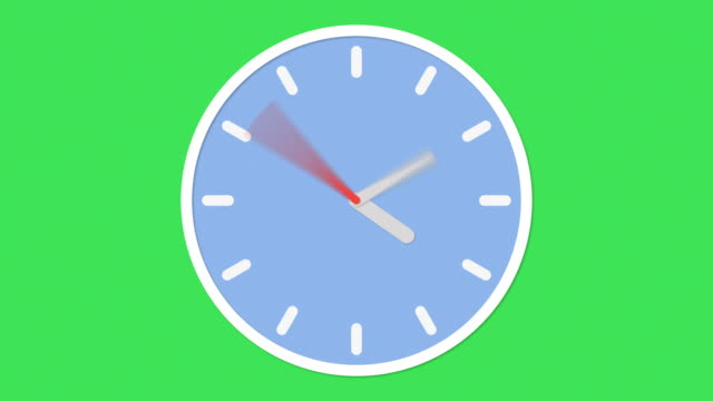 clock animation - clock стоковые видео и кадры b-roll