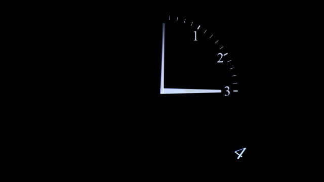 Clock build animation video