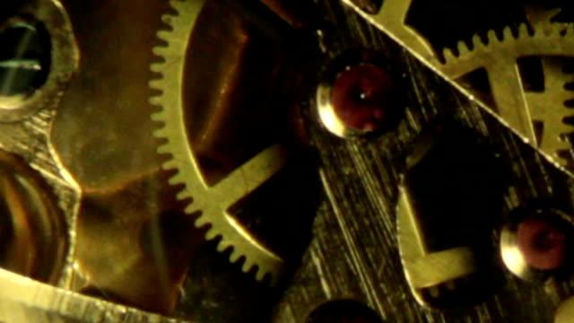 時計の内部スローモーション e - 骨董品点の映像素材/bロール