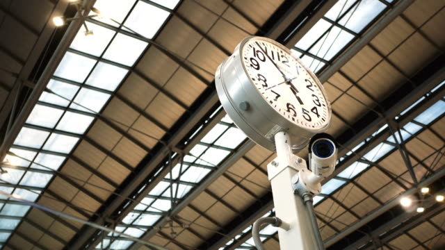 Clock in the Airport
