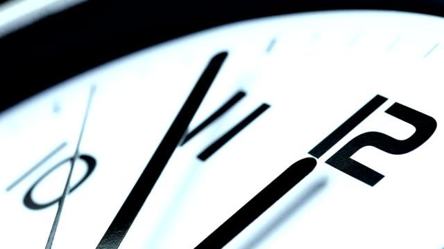 Clock Last Minute - blue tint video