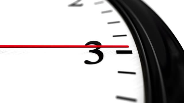 Clock, last minute video