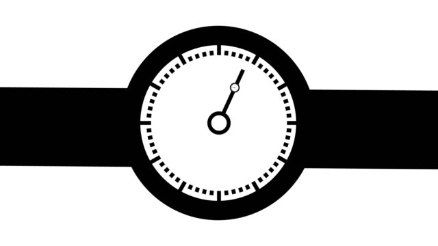 Clock loop animation design 4k.Loopable clock video Clock loop animation design 4k.Loopable clock video wall clock stock videos & royalty-free footage