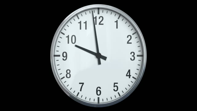 Clock (Time Lapse) | Loopable video
