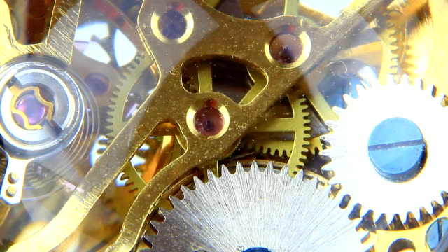 clock mechanism video