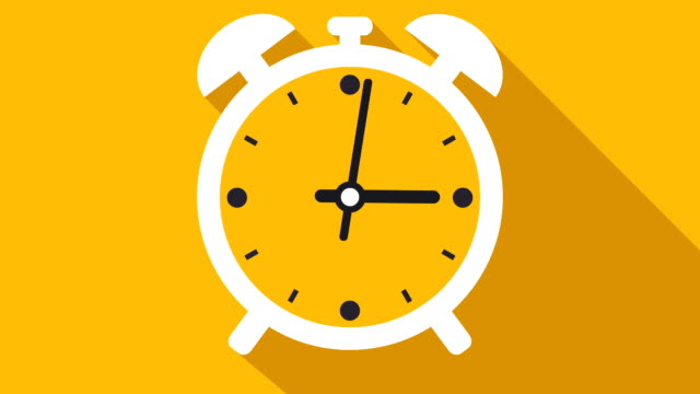 Clock Or Timer Time lapse Illustrative Cinemagraph video