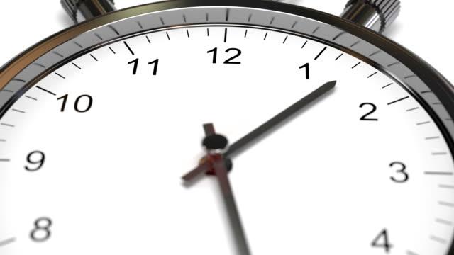 Clock Time Lapse video