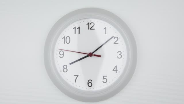 vidéos et rushes de horloge temps qui passe - cadran
