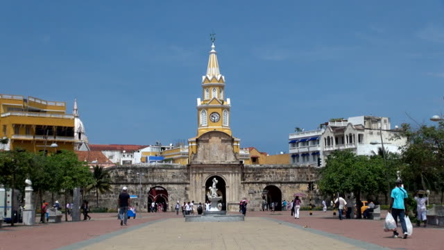 Clock Tower - Cartagena, Colombia video