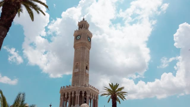 Clock tower in Izmir, Konak Square