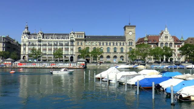 Clock Tower - Zurich, Switzerland video