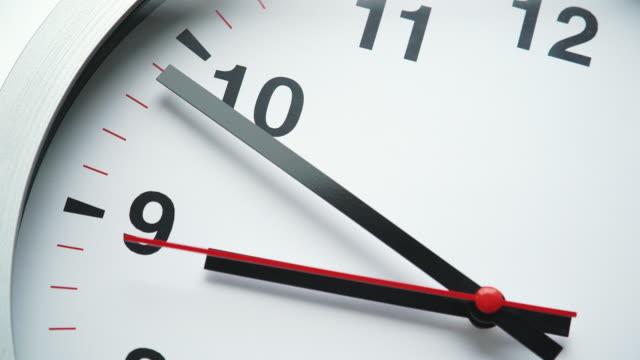 clock clock wall clock stock videos & royalty-free footage