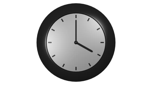 Clock What time is it? daylight savings stock videos & royalty-free footage