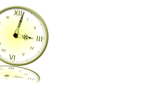 hd, clock - ancient white background bildbanksvideor och videomaterial från bakom kulisserna