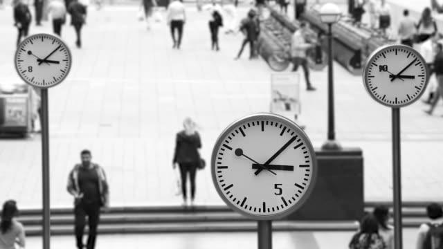Uhren in London, Zeitraffer – Video
