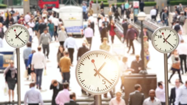 Clocks in London, Time Lapse